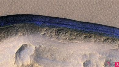 "Photo of ""رواسب جليدية"" قد تسمح بالحياة على المريخ"