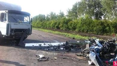 Photo of مقتل 5 أشخاص في اصطدام صهريج بسيارة في روسيا
