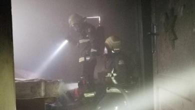 """Photo of بالصور.. """"مدفأة كهربائية"""" تتسبب في حريق بأحد المنازل في الجوف.. """"والدفاع المدني"""" يسيطر عليه"""