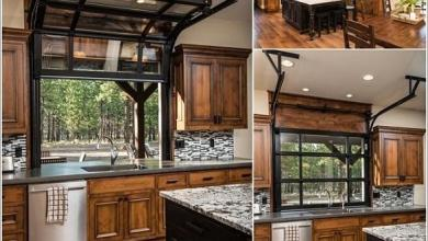 Photo of تصاميم عصرية مميزة لنوافذ المطبخ