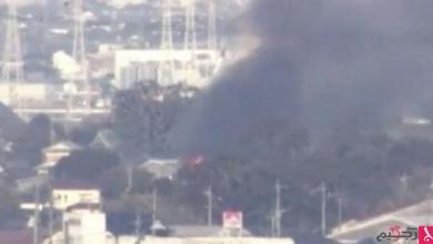 Photo of تحطم مروحية عسكرية يابانية في منطقة سكنية
