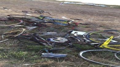Photo of وفاة 4 من فريق دراجي نادي اليرموك إثر حادثة دهس بأبوعريش
