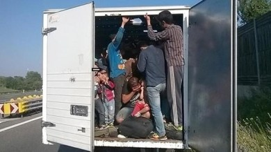 Photo of المكسيك: إنقاذ 100 مهاجرمن داخل شاحنة تبريد