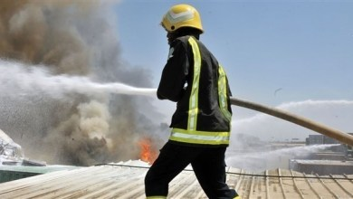 Photo of إنقاذ 1300 معتمر باكستاني من حريق في فندق بالمدينة المنورة