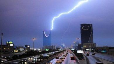 Photo of أمطار رعدية على الرياض والقصيم