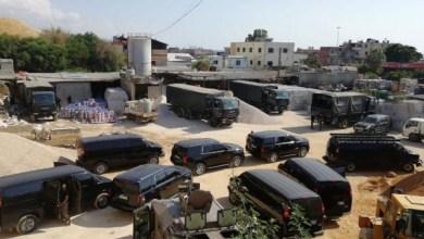"""Photo of """"حشيشة"""" تملأ ملعب كرة القدم بقبضة الأمن اللبناني"""