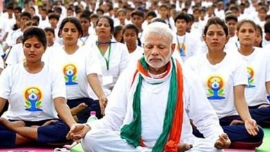Photo of الهند تُحيي اليوم العالمي لليوغا