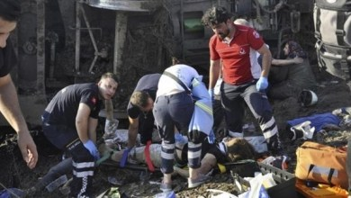 Photo of تركيا: ارتفاع حصيلة ضحايا حادث القطار لـ24 قتيلاً