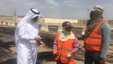 Photo of رصد مخالفات لقرار منع العمل تحت أشعة الشمس بمدينة السيح