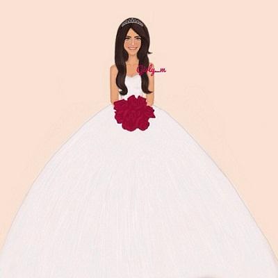 Photo of صور مرسومة ملونة, صور عروس رسمة للبطاقات والثيمات , صور عروس مرسومة للتصميم