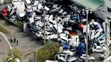 Photo of بالفيديو: رُعب في اليابان بعد وصول أقوى إعصار منذ ربع قرن