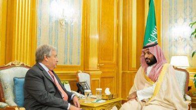 Photo of ولي العهد يلتقي الأمين العام للأمم المتحدة في قصر السلام بجدة- فيديو