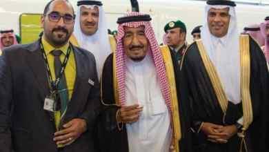 Photo of قائد رحلة خادم الحرمين يلتقط صورة معه.. ويروي حكايتها وماذا قال له الملك