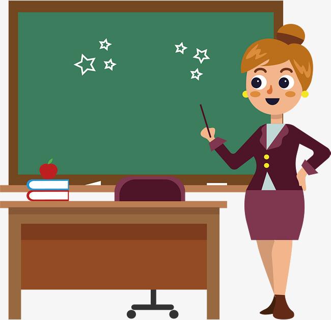 معلمة تشرح الدرس