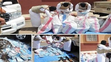 Photo of ضبط 8627 متهماً في جرائم تهريب واستقبال ونقل وترويج المخدرات