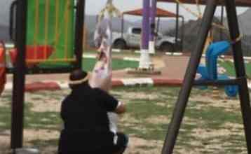 Photo of توقيف مواطن سلخ ذبيحته على أرجوحة أطفال وسط متنزه بـ جازان