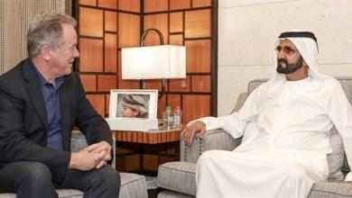 Photo of محمد بن راشد يستقبل المدير التنفيذي لبرنامج الأغذية العالمي