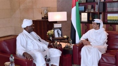Photo of منصور بن زايد يبحث العلاقات المشتركة مع مساعد رئيس السودان