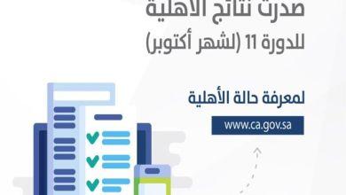 """Photo of """"حساب المواطن"""" يعلن نتائج الأهلية لدفعة شهر أكتوبر"""