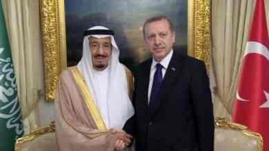 Photo of خادم الحرمين الشريفين يجري اتصالاً هاتفيًا بالرئيس التركي