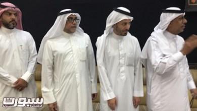 Photo of رئيس نادي الفتح واعضاء مجلس ادارته يقدمون واجب العزاء لأسرة السعيد والموسى