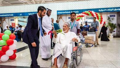 Photo of شاهد.. كيف استقبلت مطارات المملكة القادمين والمغادرين العُمانيين بمناسبة اليوم الوطني الـ 48 لبلادهم