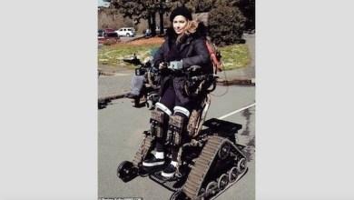Photo of تستعيد قدرتها على المشي بفضل بزّة آلية