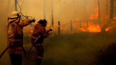 Photo of حرائق غابات تهدد منازل في شرق أستراليا