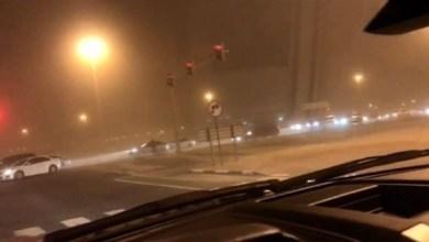 Photo of رياح تصل سرعتها لـ45 كلم/ ساعة في الشارقة والجهات الرسمية تحذر