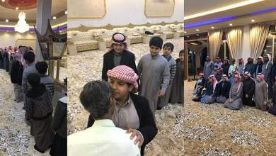 Photo of بالصور: عمل لديهم لمدة 35 عاما.. عائلة سعودية تضرب أروع الأمثلة الإنسانية وهي تودع عاملها الهندي