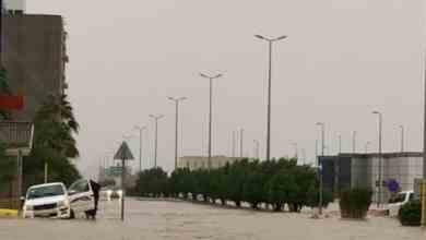 """Photo of بالصور: """"رغد"""" تخيّم على القصيم .. والأمطار تهطل بغزارة منذ البارحة"""