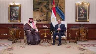 Photo of بالصور: ولي العهد يستعرض العلاقات الثنائية وسبل تعزيزها مع السيسي