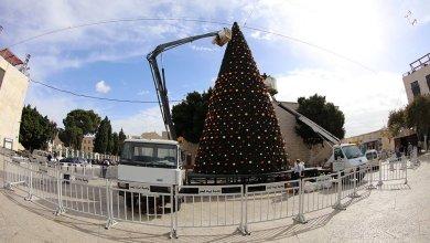 Photo of بالصور: بلدية بيت لحم تتحضر لاستقبال عيد الميلاد