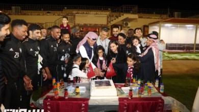 "Photo of بالصور : "" نورة "" جوهرة المدرج الفيصلاوي .. وناشئين الفيصلي يحقق بطولة المجمعة"