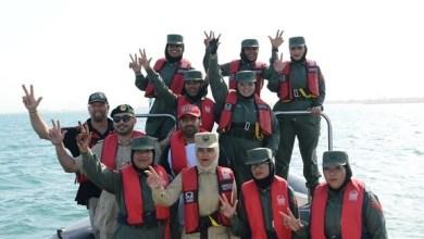 Photo of أول فريق نسائي لقيادة الزوارق على مستوى الشرق الأوسط في دبي