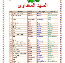 Photo of كتاب الافعال الشاذة ومعانيها