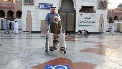 Photo of بالصور.. شؤون المسجد النبوي تهيئ ممرات خاصة بذوي الإعاقة لزيارة الروضة الشريفة