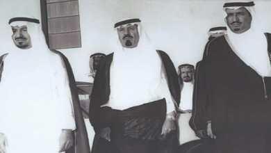 Photo of شاهد.. 3 ملوك للمملكة في صورة نادرة قبل 40 عامًا