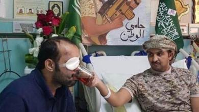 Photo of شاهد: النعيمة يزور بطلي الحد الجنوبي العمري والزهراني صاحبي الصورة المؤثرة