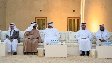 Photo of بالصور: محمد بن زايد يلتقي المواطنين في قصر المويجعي بالعين