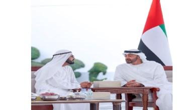 Photo of محمد بن راشد ومحمد بن زايد يبحثان قضايا الوطن والمواطن