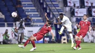 """Photo of """"الأخضر"""" يهزم لبنان بهدفين ويتأهل لدور الـ 16"""