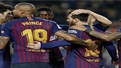 Photo of ميسي يقود برشلونة لفوز صعب على بلد الوليد