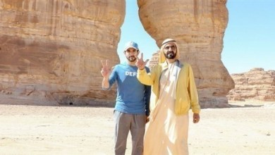 Photo of محمد بن راشد يزور عدداً من المناطق التاريخية في العُلا السعودية