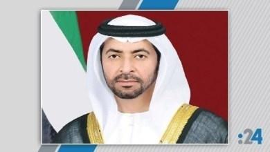Photo of حمدان بن زايد ينعى عبد الله المسعود