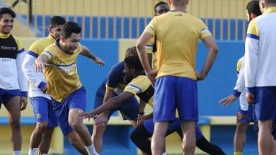Photo of مران تكتيكي منوع وتدريبات الكرة الطائرة للاعبي النصر استعداداً للتعاون