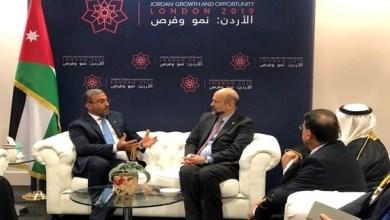 """Photo of الصايغ يترأس وفد الإمارات إلى مؤتمر """"الأردن نمو وفرص: مبادرة لندن 2019"""""""