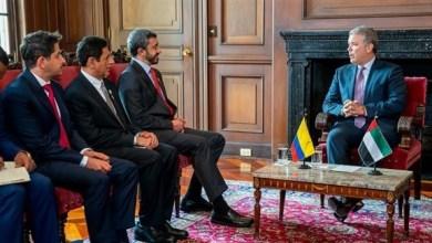 Photo of رئيس كولومبيا يستقبل عبدالله بن زايد