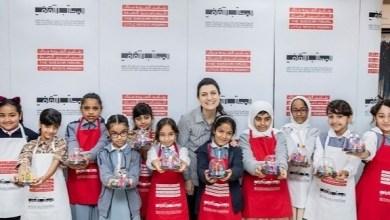 "Photo of ""ابتكار عوالم جديدة"" عبر الفن في برنامج ""منال بنت محمد للرسامين الصغار"" وآرت دبي"