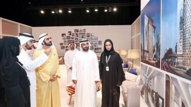Photo of محمد بن راشد يطلع على تصميم المبنى الجديد لجمعية الصحافيين الإماراتية